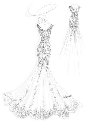 Brautkleid 2021 V-Ausschnitt Meerjungfrau ärmellose Spitzenverzierung Klassische Brautkleider mit Zug_4