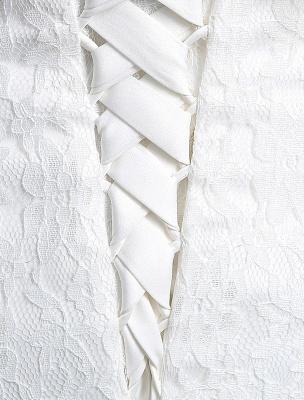Spitze Sweatheart Trompete/Meerjungfrau-Brautkleid mit Spitzencape Lace_11