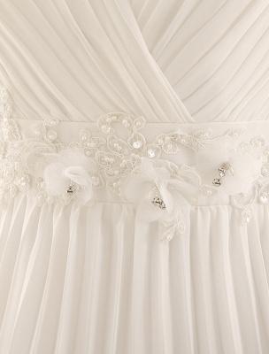 Vestido de novia con escote en pico y encaje hasta el suelo exclusivo_8