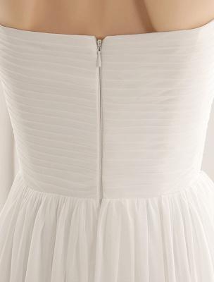 Strapless Tiered Wedding Dress In Floor-Length_8