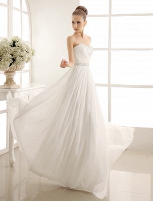 Strapless Tiered Wedding Dress In Floor-Length_1