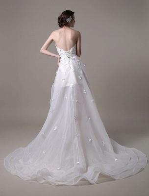 Exklusives Vintage Brautkleid mit Meerjungfrau-Spitze und Hofschleppe_8
