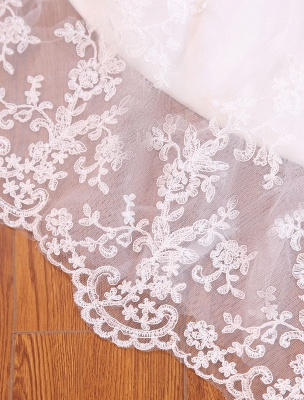 Mermaid Wedding Dresses Lace Beading Off The Shoulder Short Sleeve Fishtail Ivory Bridal Gown With Train_7