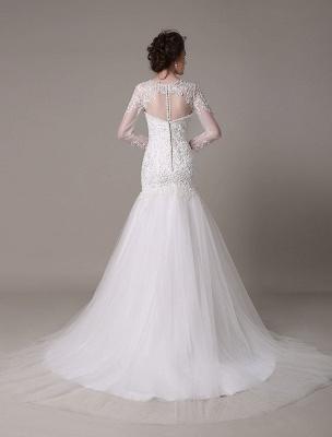 Pailletten-Hochzeit-Kleid-Abnehmbar-Ausschnitt-Spitze-Applikation-Meerjungfrau-Gericht-Zug-Brautkleid-Exklusiv_5