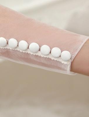 Brautkleider Ballkleid Brautkleid Langarm Spitze Applique Perlen Strass Schärpe Illusion Ausschnitt Brautkleid Mit Zug Exklusiv_8