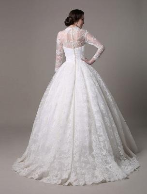 Kate Middleton Royal Wedding Dress Vintage Lace mit V-Ausschnitt und langen Ärmeln Exklusiv_6