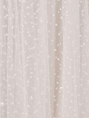 Vestido corto de novia blanco T-Length A-Line Sweetheart Perlas Correas espaguetis Vestido largo hasta el té_5