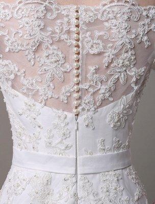 Wedding Dresses Vintage Lace Mermaid Of The Shoulder Court Train Bridal Dress Exclusive_8