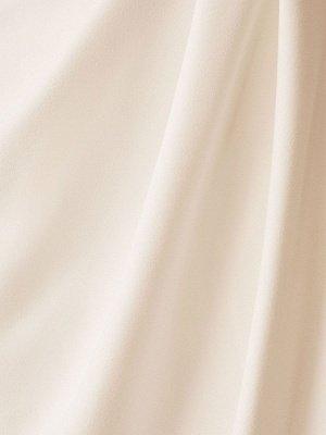 Simple Wedding Dress Black Stretch Crepe Bateau Neck Short Sleeves Pleated Sheath Bridal Gowns_4