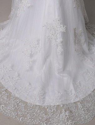 Wedding Dresses Vintage Lace Mermaid Of The Shoulder Court Train Bridal Dress Exclusive_9