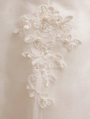 Short Wedding Dresses Ivory Lace Applique Vintage Bridal Dress Illusion Sweetheart Open Back Tea Length Wedding Reception Dresses Exclusive_7
