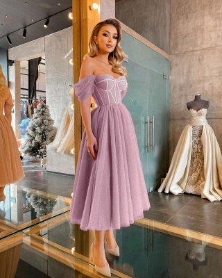 Kurze Ballkleider Promi-Kleider Abendkleider Robes De Cocktail Abendkleider_2