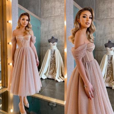 Kurze Ballkleider Promi-Kleider Abendkleider Robes De Cocktail Abendkleider_4
