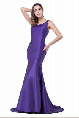 AILEEN   Mermaid One Shoulder Satin Evening Dress_3