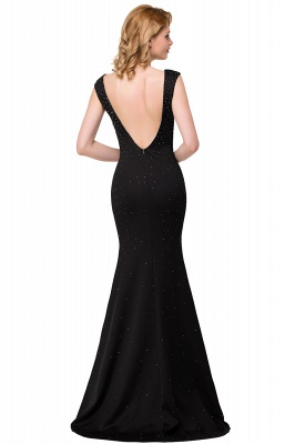ERIKA | Mermaid Floor-Length Sleeveless Prom Dresses with Beads_4