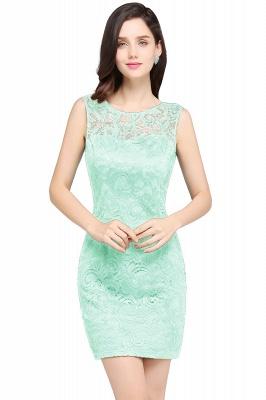 ARYA   Sheath Scoop Black Lace Cheap Homecoming Dresses_8