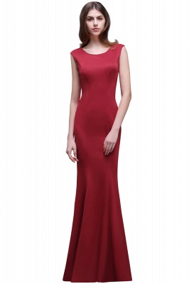 BETHANY | Sheath Scoop Floor-Length Elegant Evening Dresses_1