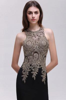 BROOKLYNN | Mermaid Black Prom Dresses with Lace Appliques_10