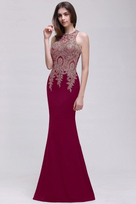 BROOKLYNN   Mermaid Black Prom Dresses with Lace Appliques_1