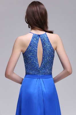 CALLIE   A-line Halter Neck Chiffon Royal Blue Prom Dresses with Sequins_6