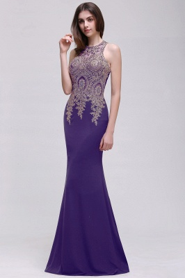 BROOKLYNN   Mermaid Black Prom Dresses with Lace Appliques_2