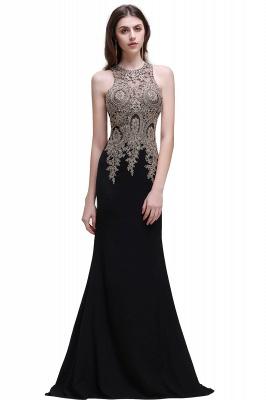 BROOKLYNN | Mermaid Black Prom Dresses with Lace Appliques_4