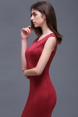 BETHANY | Sheath Scoop Floor-Length Elegant Evening Dresses_7