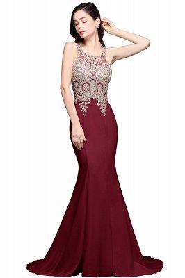 AVERIE   Mermaid Scoop Chiffon Elegant Prom Dress With Appliques_2