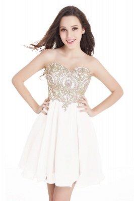 Mini vestidos de fiesta cortos con apliques_1