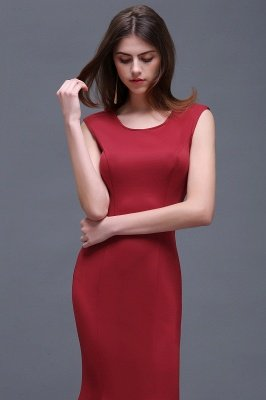 BETHANY | Sheath Scoop Floor-Length Elegant Evening Dresses_3