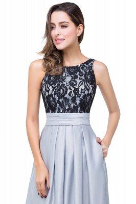 ELLIE   A-line Floor-length Crew Chiffon Lace Bridesmaid Dresses_11