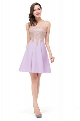 ESTHER | A-line Sleeveless Chiffon Short Prom Dresses with Appliques_11