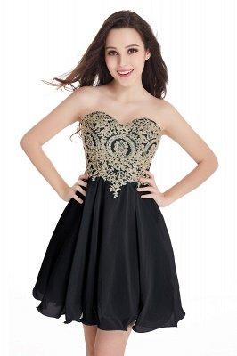 Mini vestidos de fiesta cortos con apliques_7