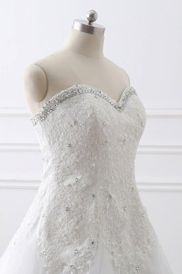 AUTUMN  | Princess Sweetheart Tulle Wedding Dress With Lace