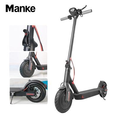 Vélo électrique adulte léger pliable noir du scooter électrique 250w_6