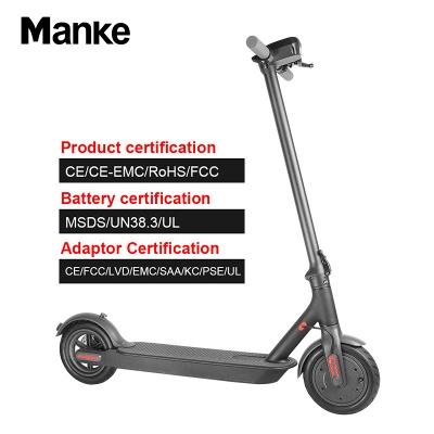 Vélo électrique adulte léger pliable noir du scooter électrique 250w_8