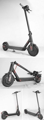 Germany Stock Manke Electric Scooter 250w Black Foldable Lightweight Adult Electric Bike_11