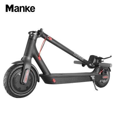 Vélo électrique adulte léger pliable noir du scooter électrique 250w_3