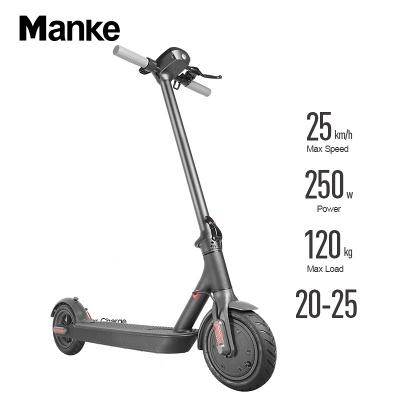 Vélo électrique adulte léger pliable noir du scooter électrique 250w_10