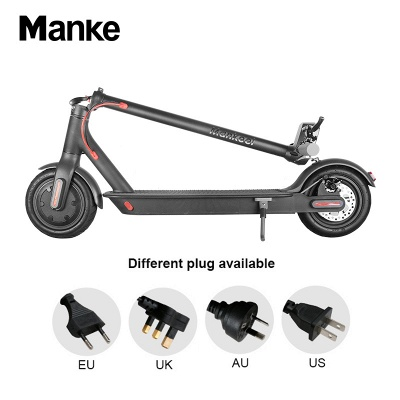 Vélo électrique adulte léger pliable noir du scooter électrique 250w_5