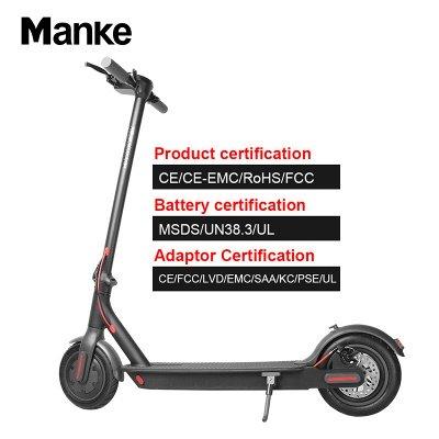 Vélo électrique adulte léger pliable noir du scooter électrique 250w_7