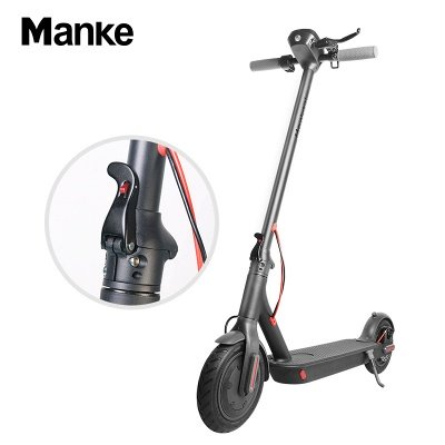 Vélo électrique adulte léger pliable noir du scooter électrique 250w_1