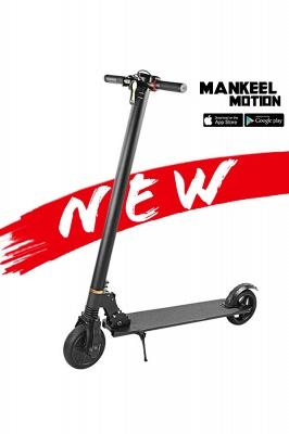 Vélo électrique adulte léger pliable noir du scooter électrique 250w_16