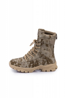Ankle Combat Boots Waterproof Tactical Work Boot Lace Up Outdoor Boots_4
