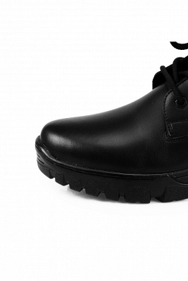 Men's Motorcycle Tactical Combat Boots Lace-up Boot_3
