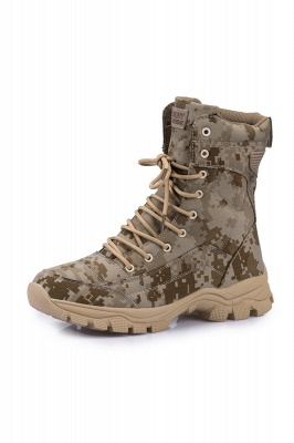 Ankle Combat Boots Waterproof Tactical Work Boot Lace Up Outdoor Boots_11
