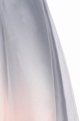 Robe de soirée élégante à col en V dégradé Robe courte à usage quotidien_14