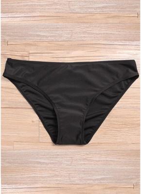 Plus Size Padded Swimsuit Push Up Skirt_6
