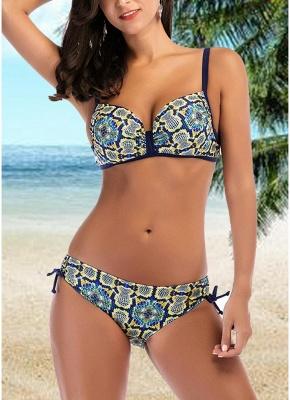 Women Sexy Bikini Set Underwire Push Up Top Bottom Swimwear Swimsuit Bathing Suit_1