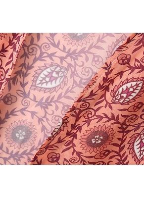 Fashion Chiffon Allover Print Front Open Women's Loose Long Thin Kimono_8